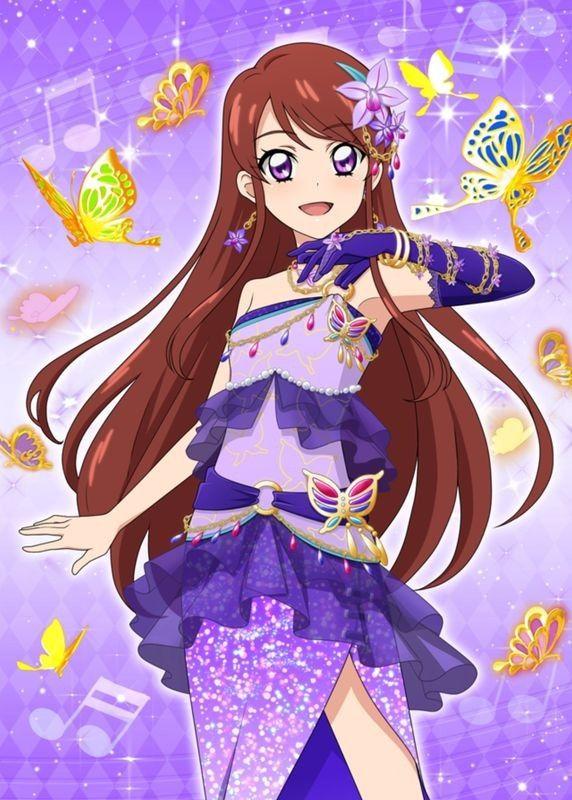Pretty Pastel Anime Girl Wallpaper 思いがつまったステージ 紫吹 蘭+ フォトカツ Aikatsu Ran Anime Outfits