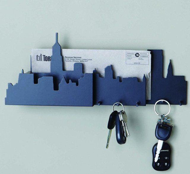 12 Cool And Creative Key Holders Designs Modern Key Holder Wall
