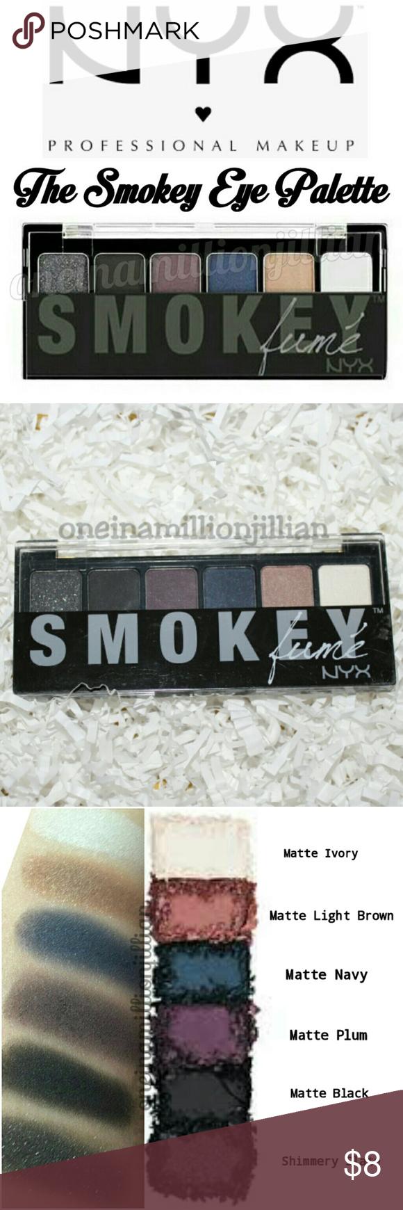 NYX The Smokey Eyeshadow Palette Boutique Smokey