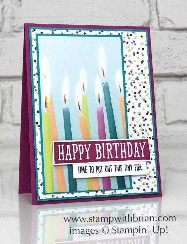 Birthday Wit Birthday Banners Stampin Up Brian King Fun
