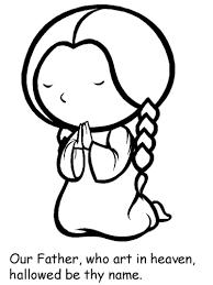 Resultado de imagem para desenho de nossa senhora para colorir