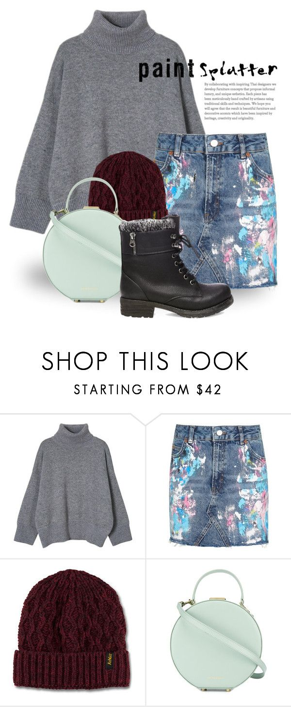 """""""Feb 12th (tfp) 3036"""" by boxthoughts ❤ liked on Polyvore featuring Topshop, Dr. Martens, Tammy & Benjamin, Steve Madden and tfp"""