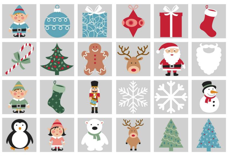 Christmas Memory Game Free christmas games, Christmas