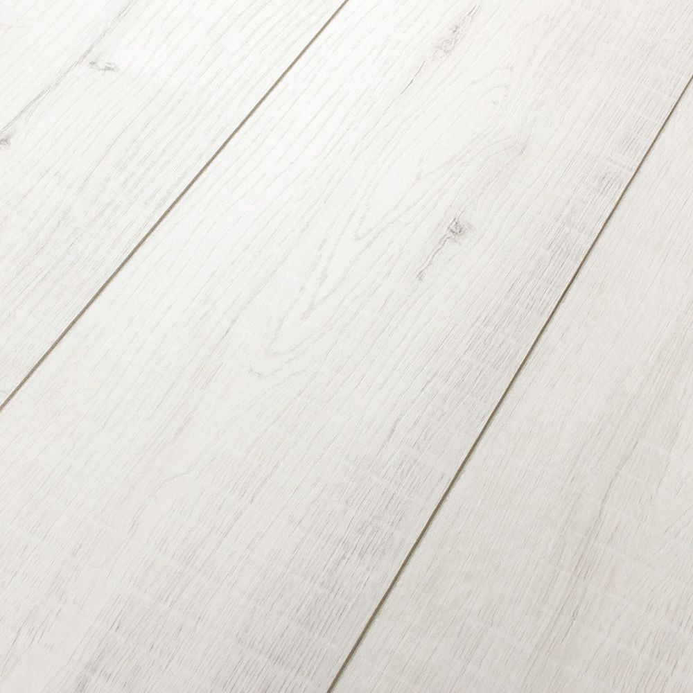 Kronotex Villa Gala Oak White 12mm Laminate Flooring M1219