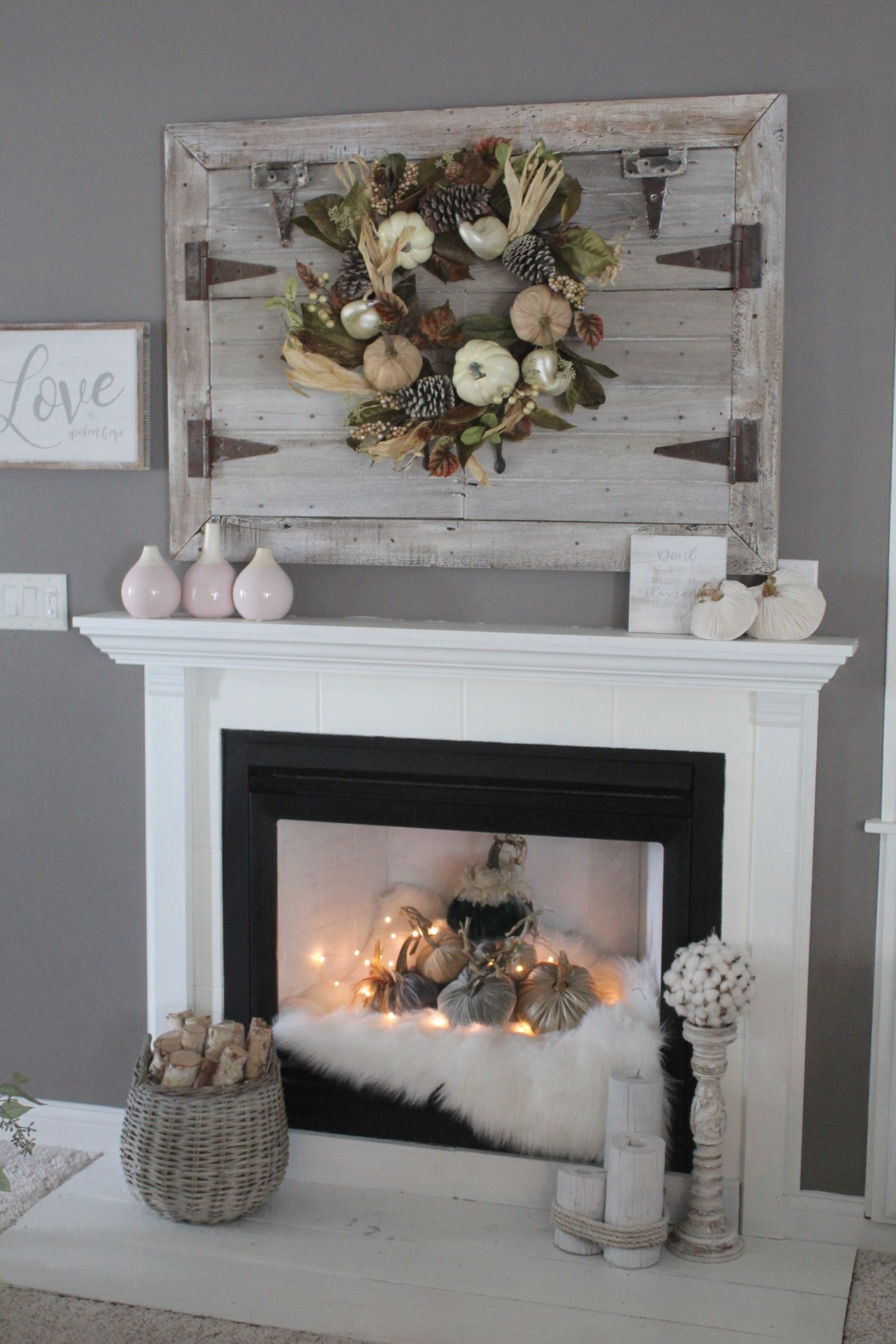 Move Over Neutral Rich Jewel Tones For Fall Chimney Decor