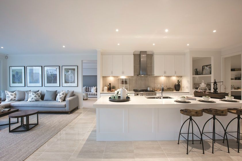 You Are Very Lucky To Have A Larger Kitchen So You Should Follow To Crea Open Plan Kitchen Living Room Open Plan Kitchen Dining Living Open Plan Kitchen Dining