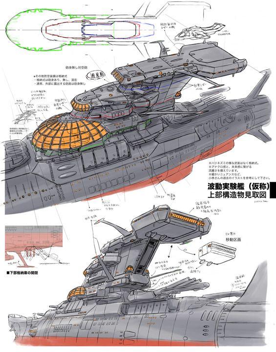 SpaceShip YAMATO」のアイデア 300 件【2021】   戦艦ヤマト, 宇宙戦艦 ...