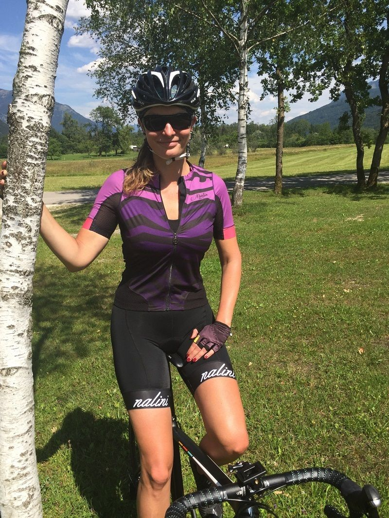 Womens Cycling Jersey Bike Jersey Women Cycling Outfit Road Bike Women