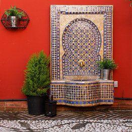 Fuentes de agua arabes arabic fountains casa home - Fuente para patio ...