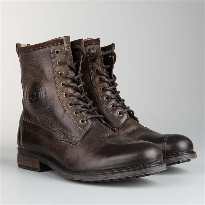 MC Sko Revit Rodeo Brun | Boots, Brown boots, Combat boots