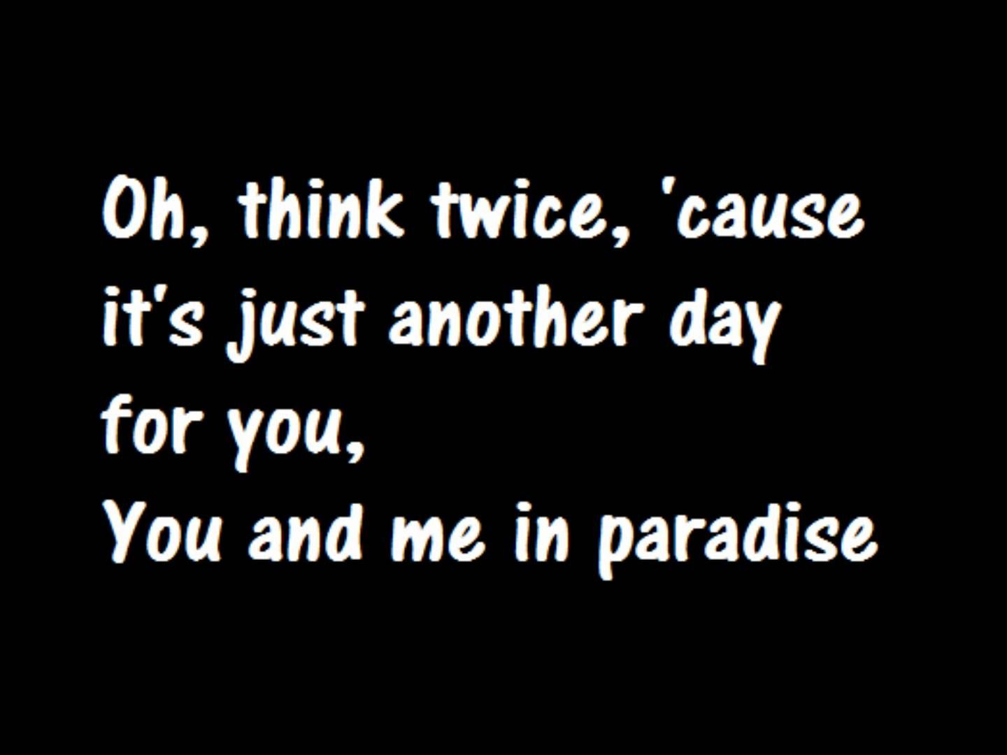 Phil Collins Another Day In Paradise Lyrics This Is How It For