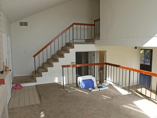 3b4c2c1eeb65 Unstable Stair Railings - Our Favorite Flip or Flop Before-and-After  Makeovers on HGTV
