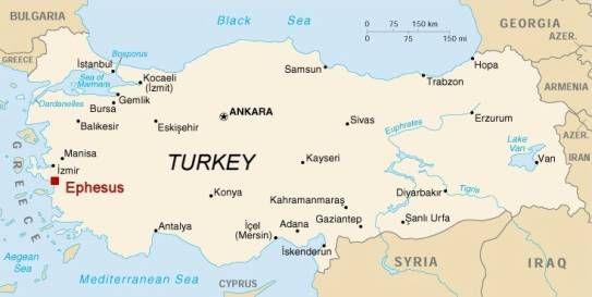 Efez Turska Usa Travel Map Turkey Tour Road Trip Fun