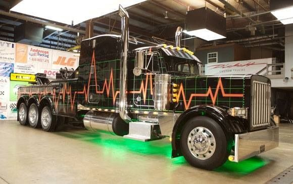 Peterbilt Truck Drivers And Trucks On Pinterest: Peterbilt Tow Truck, This Truck Was Overhauled On CMT