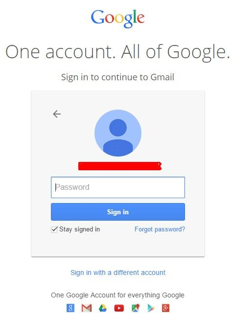 sign up gmail