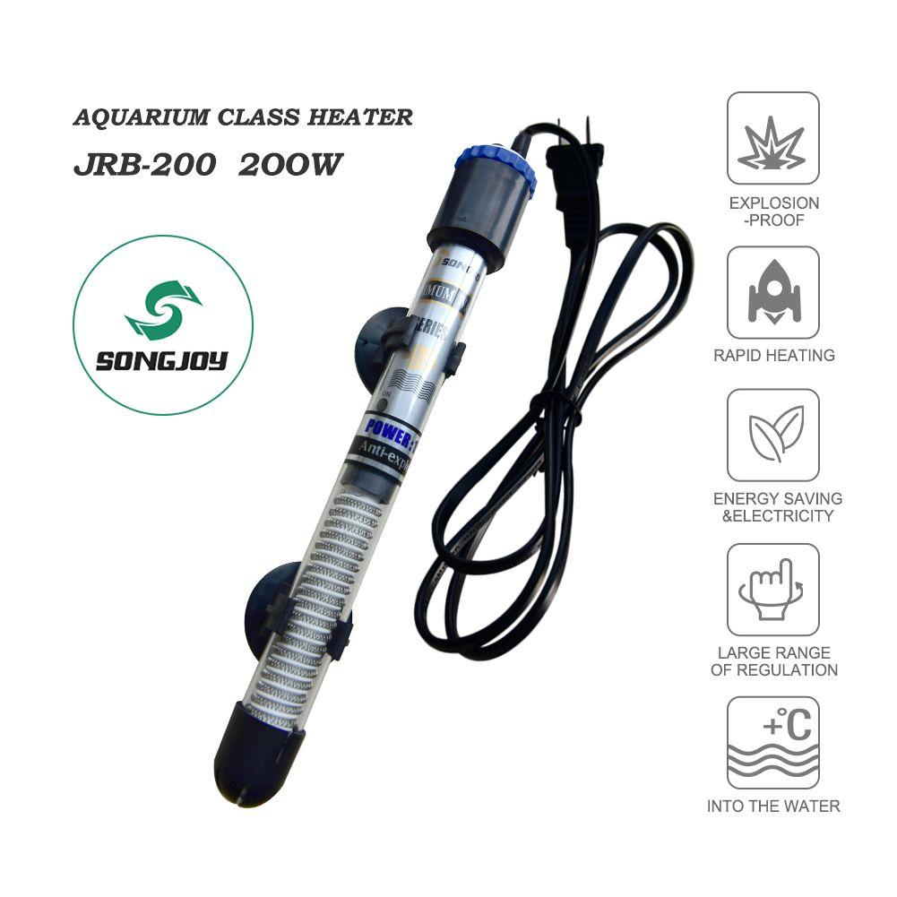 1.Songjoy 200w Aquarium Heater applicable to fresh or