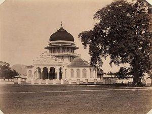 Masjid Raya Baiturrahman Zaman Kolonial Belanda Belanda Agama