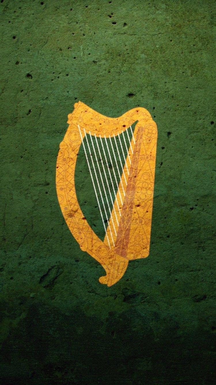 Irish Harp Iphone 6 wallpaper, Symbols, Wallpaper