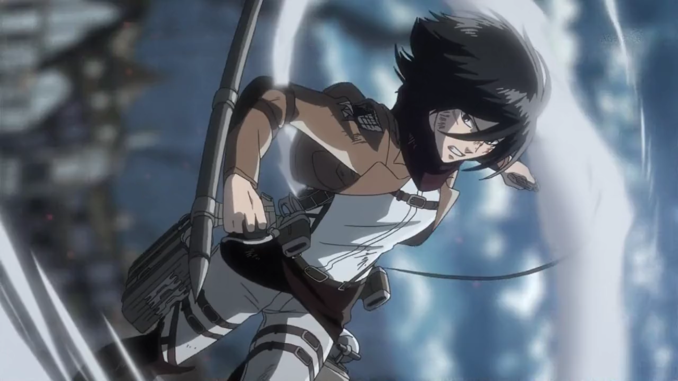 Pin by Eren Jaeger on Mikasa Attack on titan anime