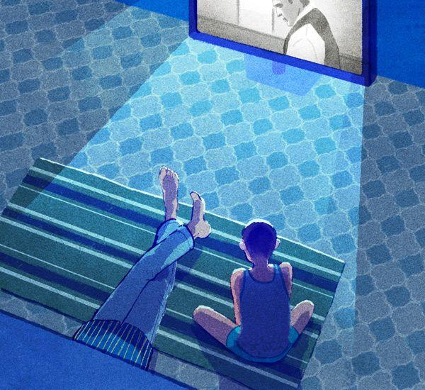 Illustration nouvelle Abdellah Taïa 2035