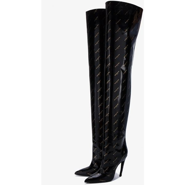 Boots, Knee high stiletto boots