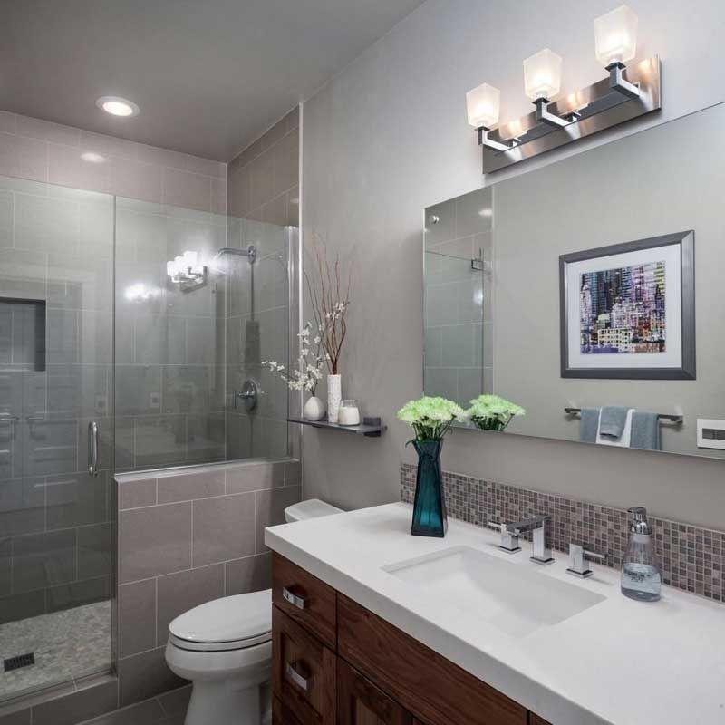 50 Modern Small Bathroom Design Ideas