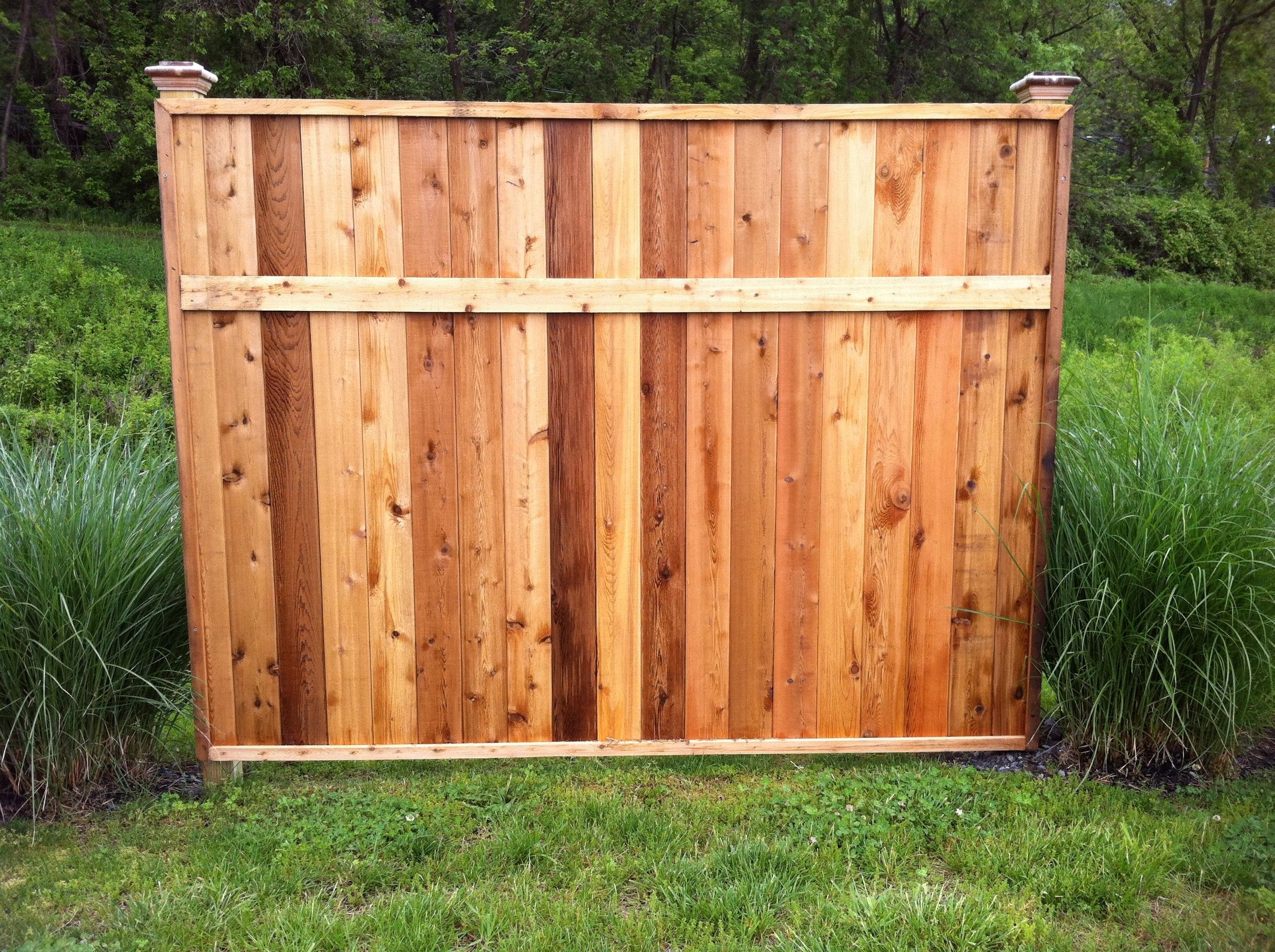 6 High Privacy Panel 1 X 5 Tongue Groove Boards Wood Fences Backyard Fences Aluminum Fencing Wood Fence
