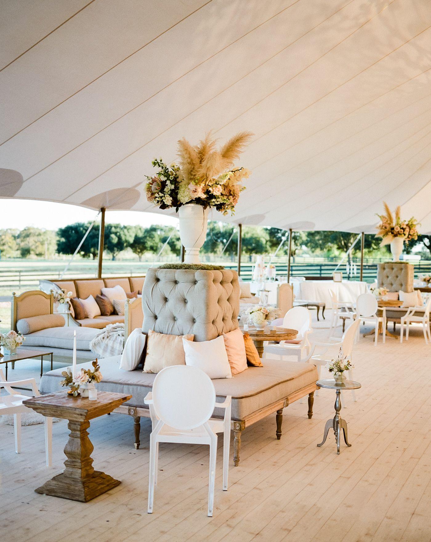 Wedding decorations checklist  Boho Lux Wedding Featured on MarthaWeddings  Photography by