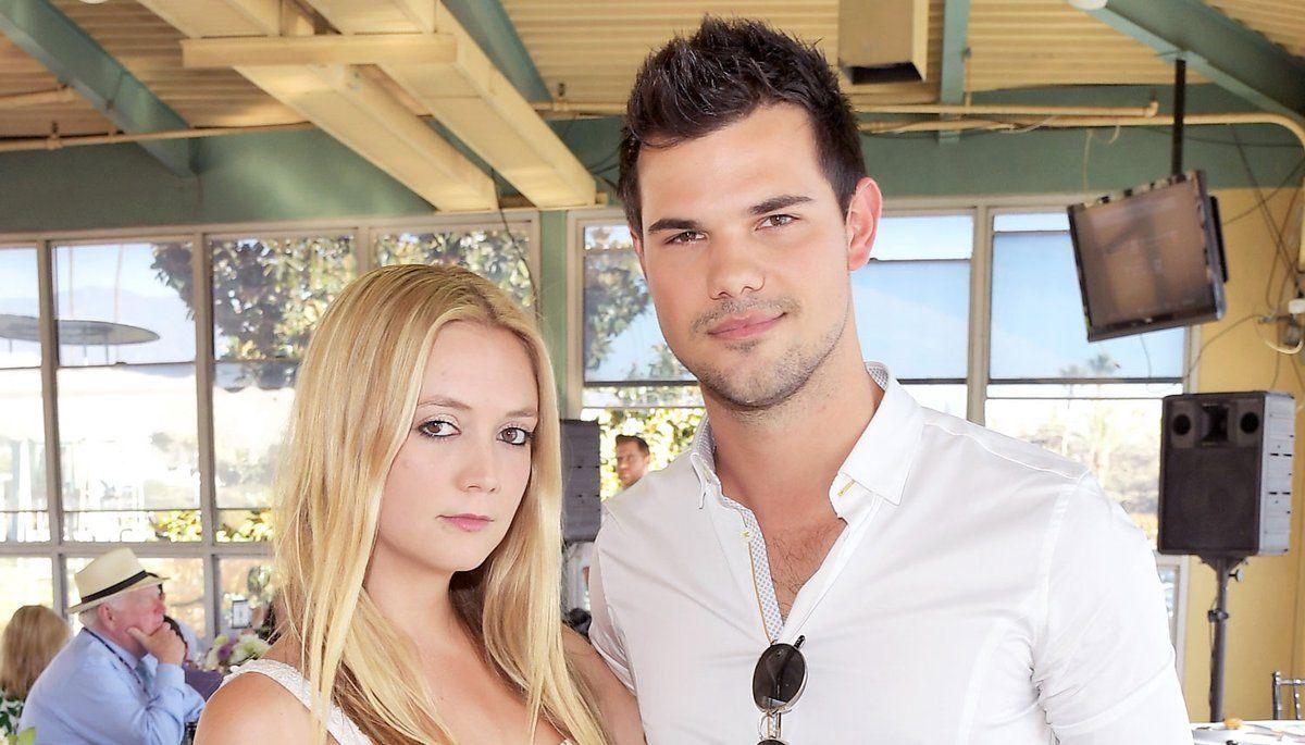 Billie Lourd's rumored boyfriend Taylor Lautner sent her love after mom  Carrie Fisher's death