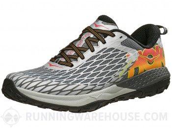 HOKA ONE ONE Speed Instinct Men's Shoes Silver/Cayenne