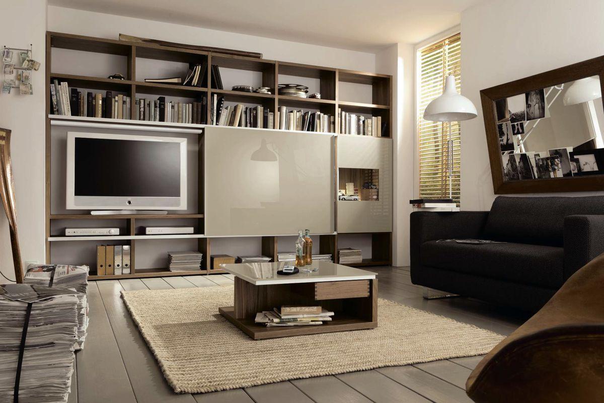 Hulsta Now Time Wohnen Wohnzimmerschranke Designer Wohnwand