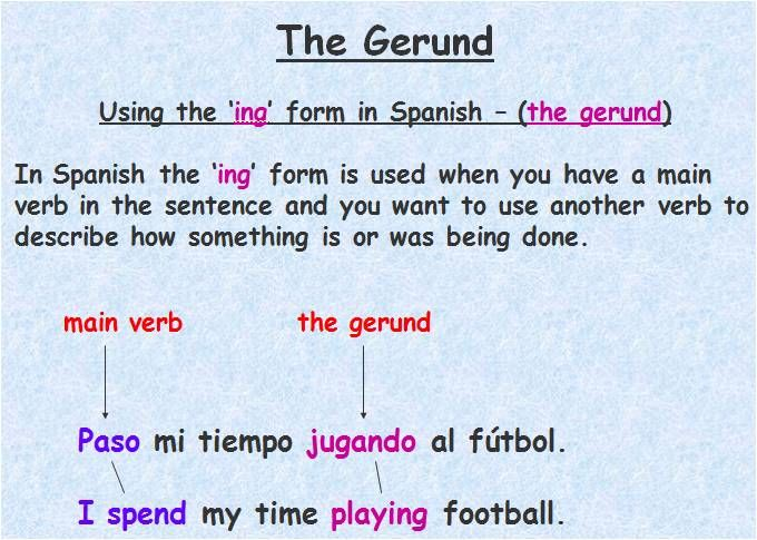 how to say grammar in spanish