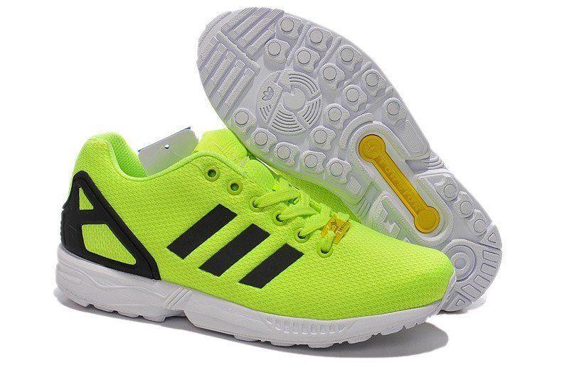 adidas zx flux jaune homme