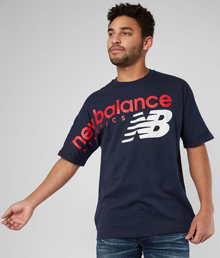 New Balance Athletics Crossover T-Shirt - Men's in 2021   Mens ...