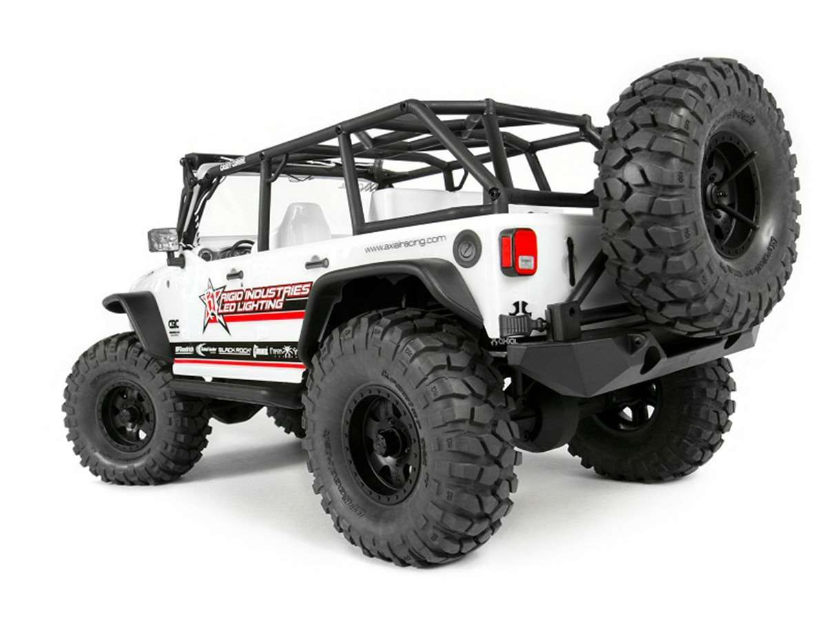Scx10 2012 Jeep Wrangler Unlimited C R Edition Radiocontrol