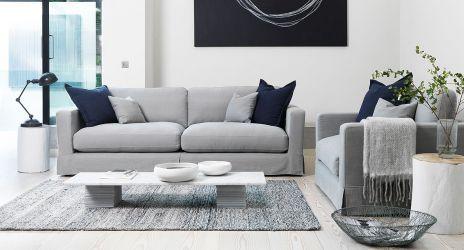 dfs french connection range coast grande fabric sofa. Black Bedroom Furniture Sets. Home Design Ideas