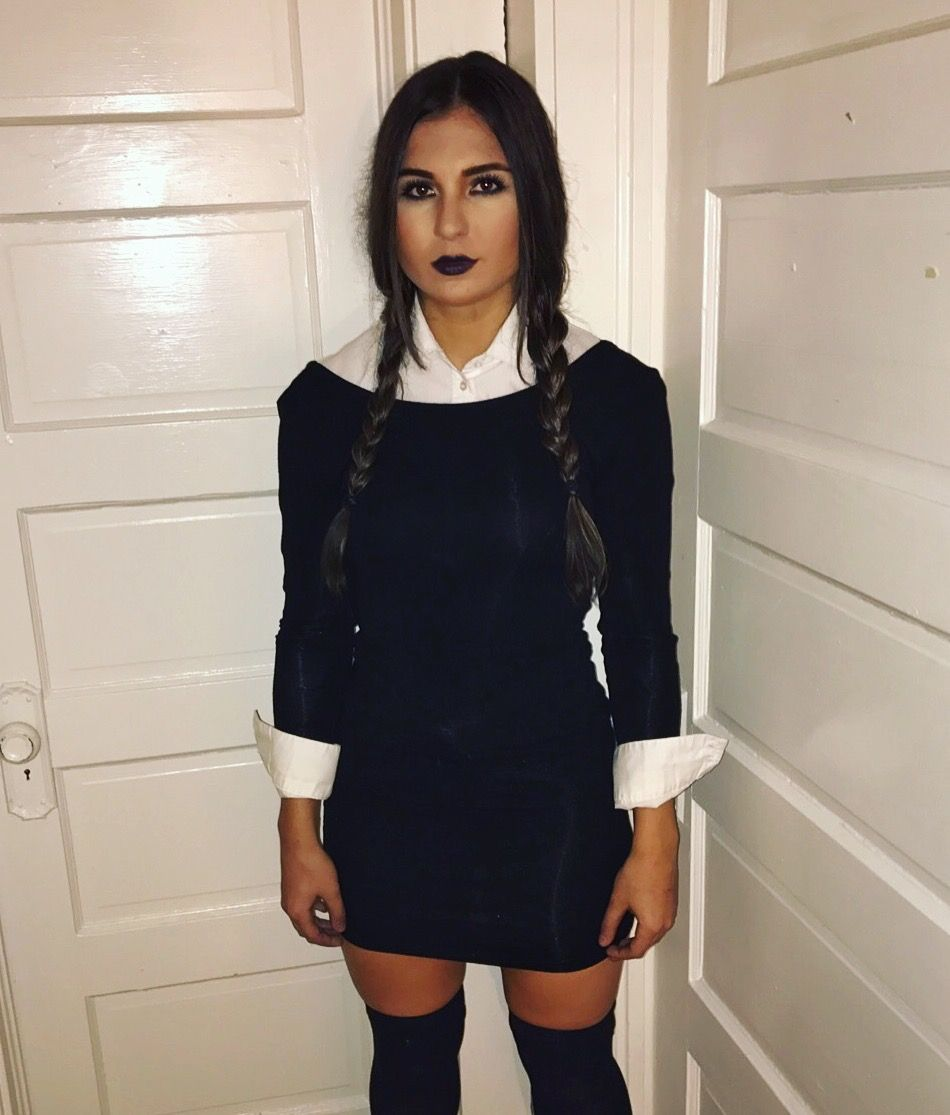 Wednesday Addams costume (With images) Halloween
