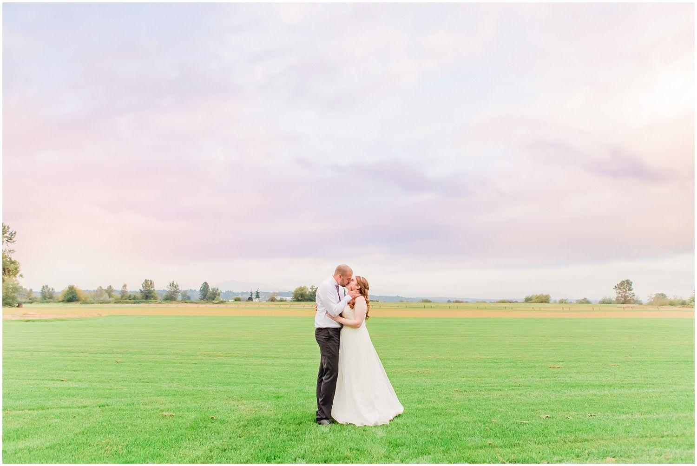 Hidden Meadows Wedding Sunset Wedding Photos Bride Groom Photos