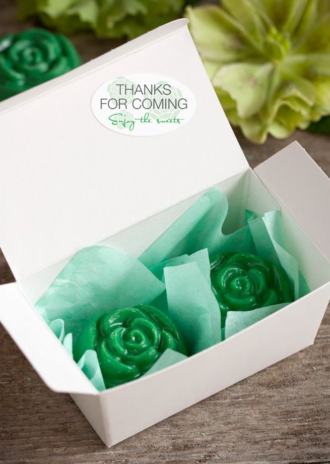 wedding favors ideas do it yourself%0A DIY Love Blossom Candy Favors  wedding  favor  green  candy  diy
