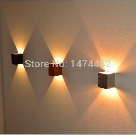 110v 240v 3w led beleuchtung indoor wand ktv dekorieren lichter lampen leuchte wandleuchte - Wandleuchte modern wohnzimmer ...