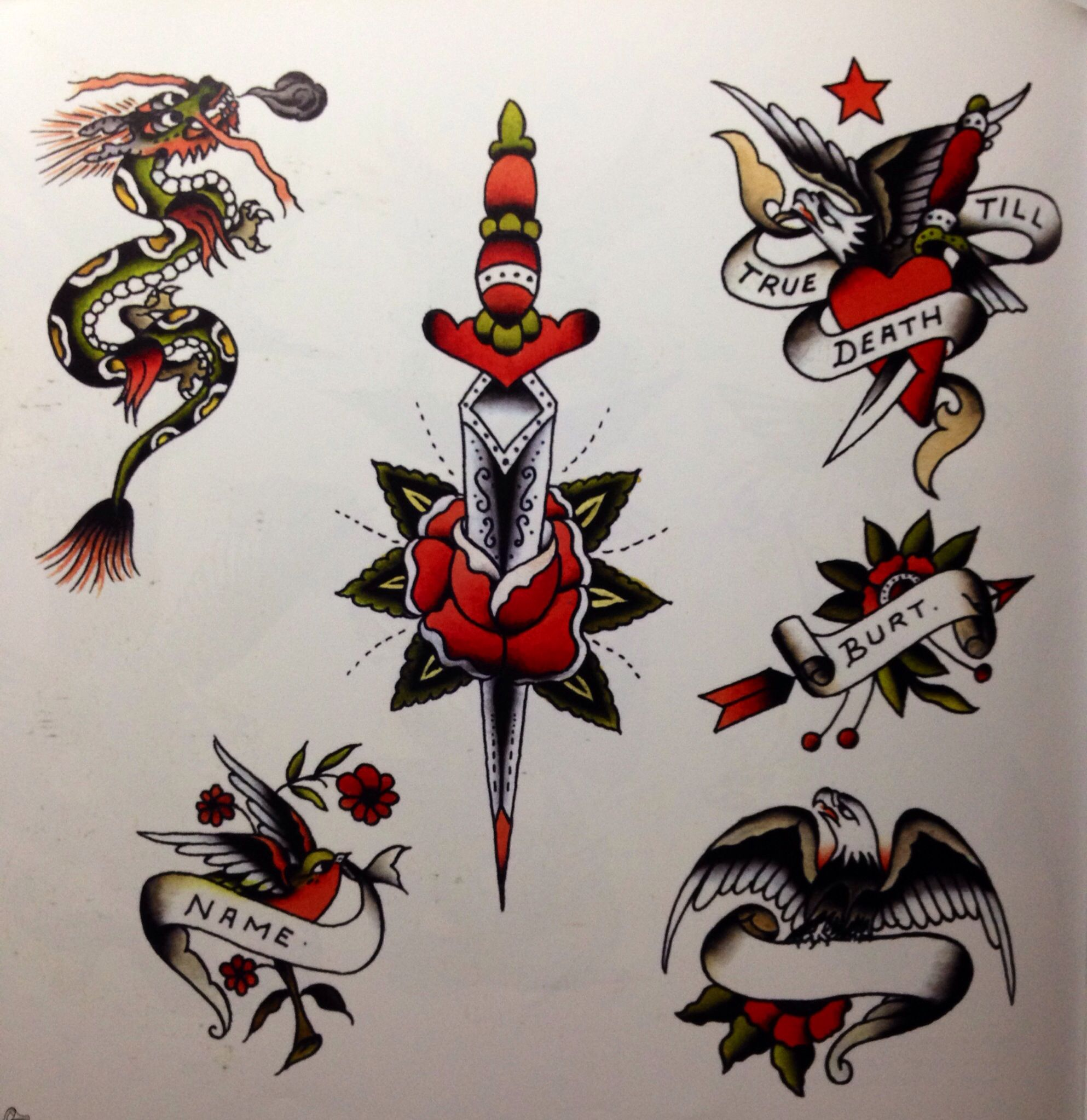 a27d73fe1 Doc Forbes. | Traditional Tattoos | Tattoo flash art, Traditional ...