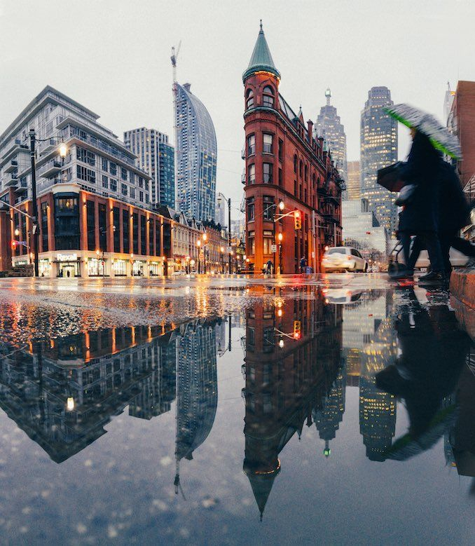 Gooderham Building by Toronto Photographer Sanjay Chauhan #travelnorthamerica