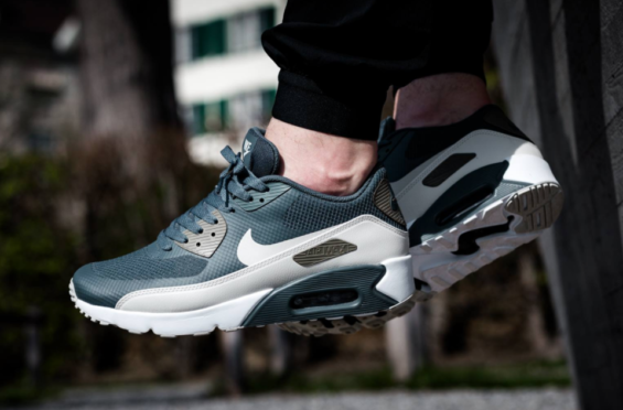 The Nike Air Max 90 Ultra 2.0 Essential Blue Fox Is A