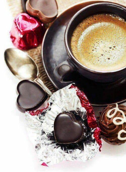 открытка кофе и шоколад с добрым утром чака называют