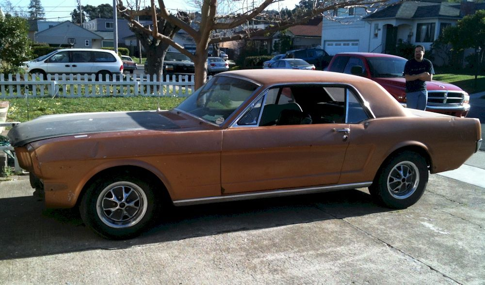 Anniversary Gold 1966 Ford Mustang Millionth Anniversary Hardtop ...