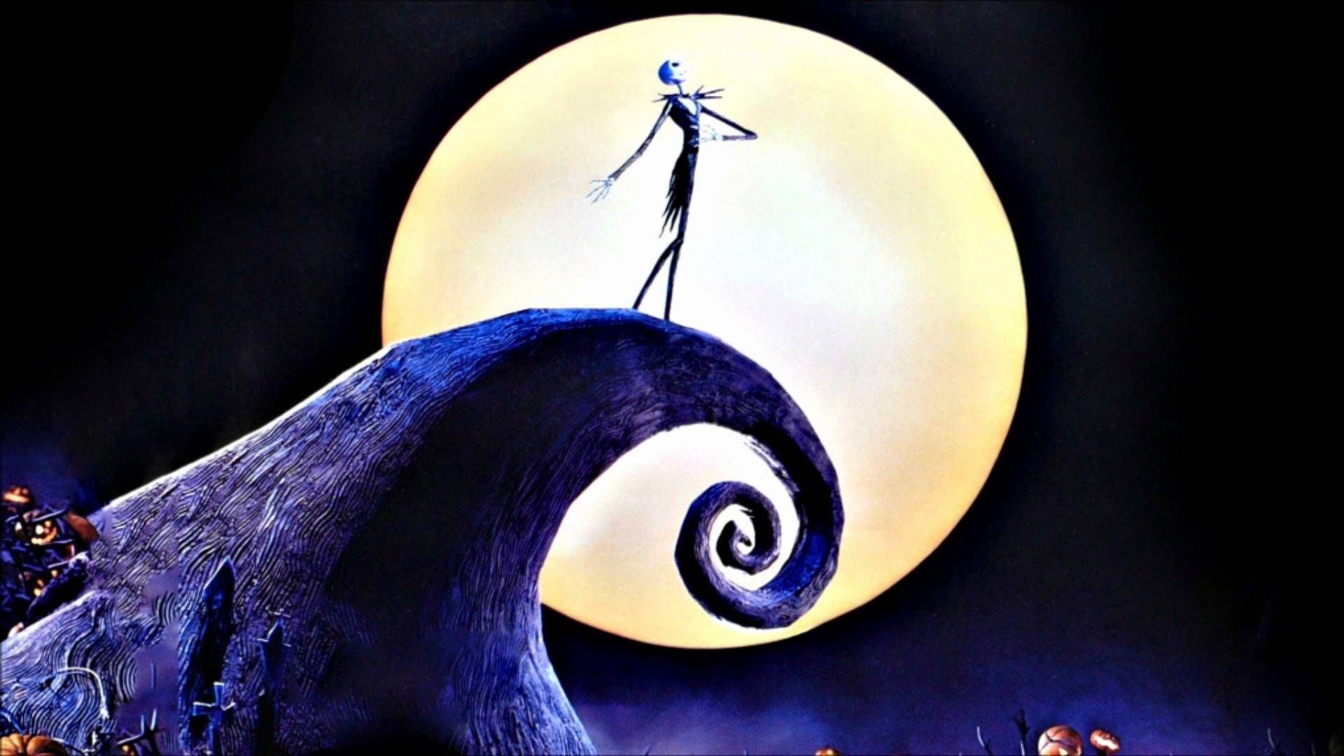 Nightmare Before Christmas Halloween Wallpapers HD Wallpaper for ...