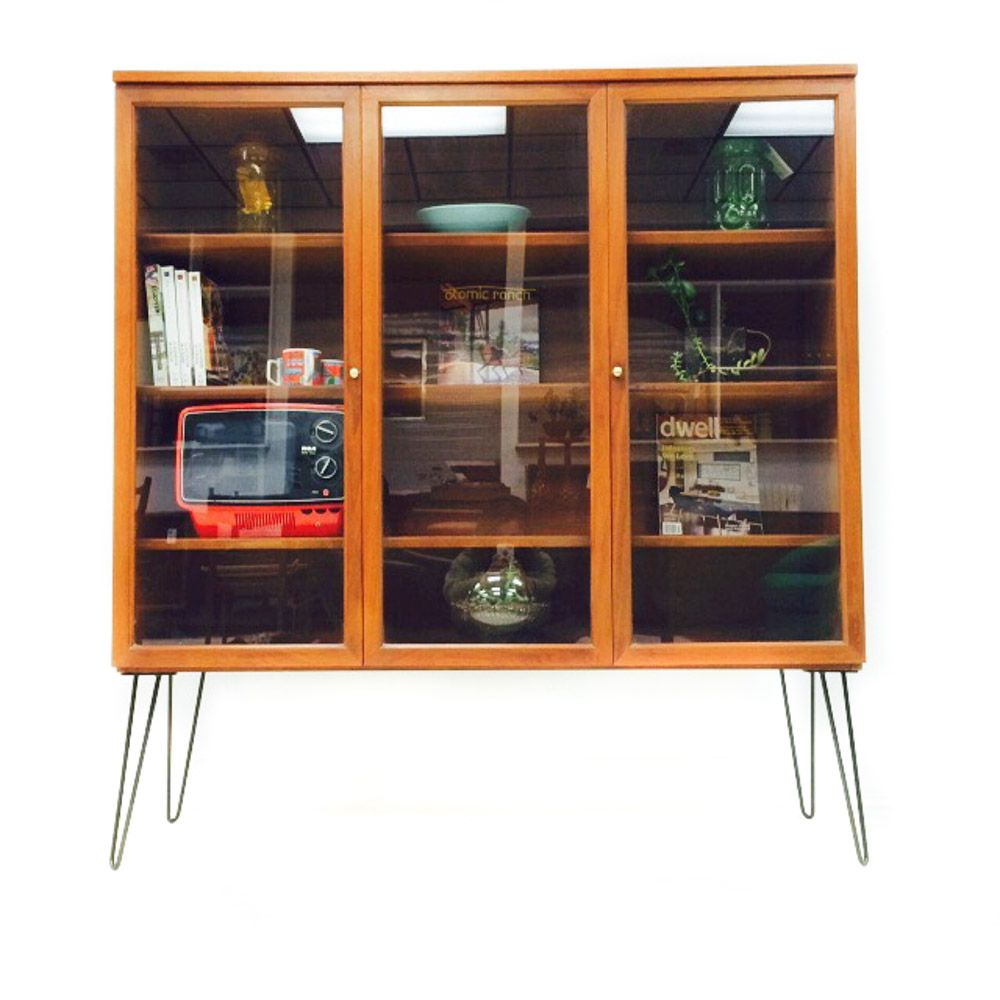 We call these danish robots ;) Mid Century Curio Cabinet from ...