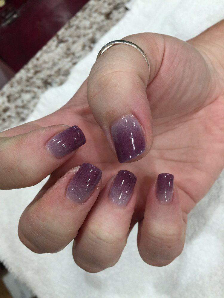 Elegant Touch Nails & Spa - Glendora, CA, United States. SNS OMBRÉ NAILS