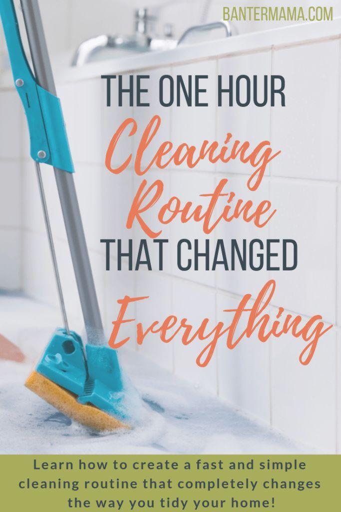 One Hour Cleaning Routine That Changed How I Tidy My Home   Banter Mama