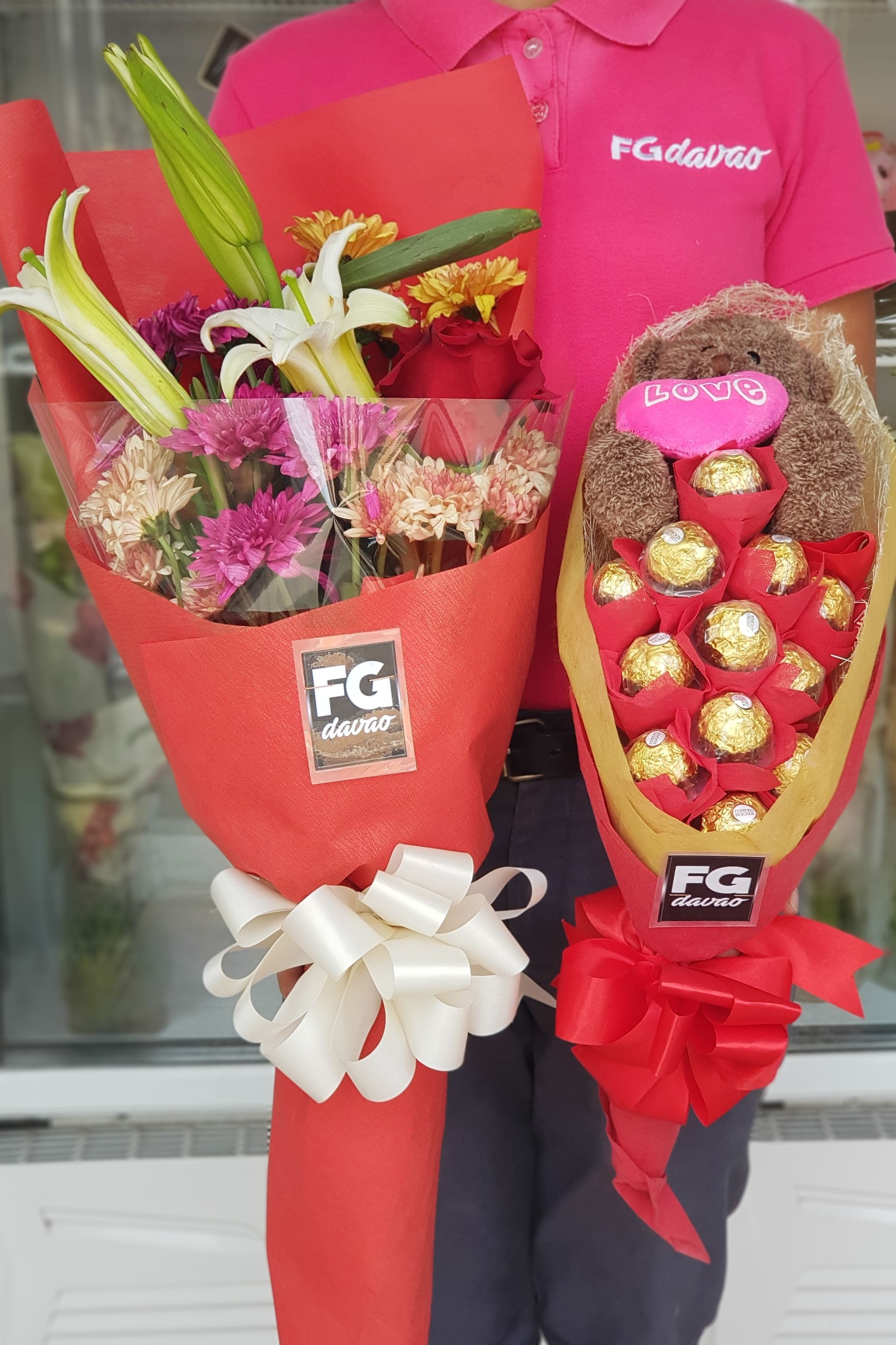 Flowers And Chocolate Bouquet Price List Www Fgdavao Com Fb Page Fg Davao Ig Page Fg Davao Store Address 123 Lop Online Flower Shop Sand Gifts Flower Shop